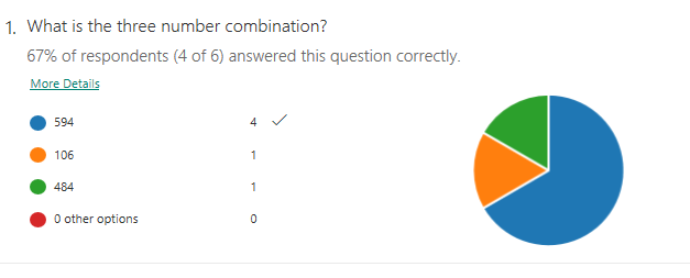 Question #2 Stats
