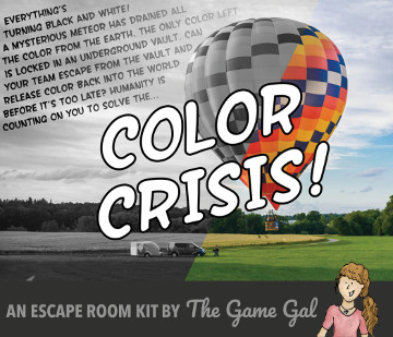 Escape Room Game Color Crisis