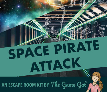 Escape Room Kit Game Space Pirate Attack